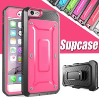 Wholesale Pro America - America Supcase Case Cover For iPhone 8 7 Plus 6 6S Samsung S6 Edge Unicorn Beetle Pro Rugged Holster Rugged Swiveling Belt Clip Holster