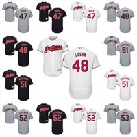 Wholesale Gold Moore - 2017 Cleveland Indians Jersey Trevor Bauer Boone Logan Shawn Armstrong Mike Clevinger Adam Moore Flexbase Onfield Custom Baseball Jerseys