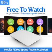 Wholesale Ip Set - Smart Android Europe Arabic IPTV box Arabox 1400+ IP TV Arabic TV Box Live Stream Sports IPTV Media Set-top Box Streamer
