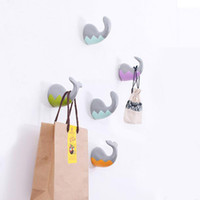 Wholesale Handicraft Wall Decoration - Creative Model Of Marine Animal Tail Hook Home Decoration Hanging Hot Style Resin Handicraft Coat Wall Hooks Pared Wallets Wall Hanger
