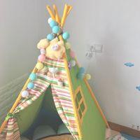 leichte baumwollkugeln groihandel-Neues Design 20Sweet Pastell Licht bunten Stil Wattebäusche Led Lichterkette Hochzeit Weihnachtsfeier Home Decoration