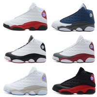 Drop Shipping Wholesale Chaussures de basket-ball Hommes Femmes Retro 13 Dan XIII Sneakers Boots Authentic New Discount Outdoor High Cut Sports Shoes