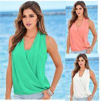 Wholesale gauze t shirt - Fashion Women Tops New Casual Joker Butterfly Sleeveless Women T-shirt Female Gauze Patchwork Women Shirt Hollow Shirt Plus Size