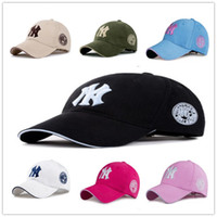 Wholesale ny hip hop caps - 11 Color Yankees Hip Hop MLB Snapback Baseball Caps NY Hats MLB Unisex Sports New York Adjustable Bone Women casquette Men Casual headware