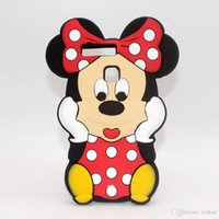 Wholesale Huawei P6 Pouch - for Huawei Y6 G7 G8 P6 P7 P8 P9 P8 Lite Y625 Y635 Honor 5X Phone Case 3D Cute Cartoon Soft Silicone Minnie Mouse Rubber Back Cover Gel Shell