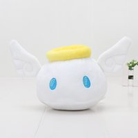 Wholesale hottest love dolls for sale - New hot cm Rainbowmon Game Summoners War Sky Arena King Angelmon soft plush toys White Angelmon loved doll toy kids gift