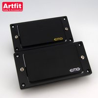 Wholesale Electric Guitars Emg - wholesale New Arrival Artfit EMG 81 85 Active quick connect Bridge and Neck Electric Guitar Pickups Free Shipping