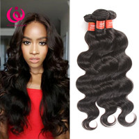Indian Human Hair Weave Bundles Body Wave 3pcs / lot Wow Queen Produtos 8-28inch Soft and Thick Preço barato Indian Virgin Hair Weft