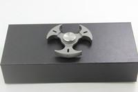 Wholesale Toy Knives For Kids - Samier Knives High Quality Full Titanium Spinner Finger Toys Hand Tri Spinner Hand Spinner EDC Good Toy For Decompression