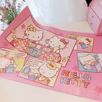 Venta al por mayor Kawaii Cartoon Kitty Melodía Paño Placemat.Kitchen Dinning al aire libre picnic lavable Tabla de tela Pad Mat.Table Cover.Home Decor