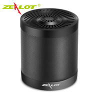 aktiver außenlautsprecher großhandel-ZEALOT Tragbare Mini Wireless Bluetooth 4.0 Lautsprecher Unterstützung Micro SD Karte AUX Outdoor Active 3D Spieluhr Subwoofer