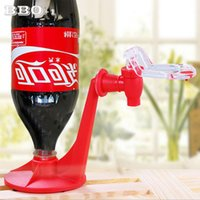 Wholesale Drinking Bottle Party - 1pc Home Coke Dispenser Bottle Upside Down Drinking Fountains Event Party Supplies Hand Pressure Pump Drinking water Dispenser