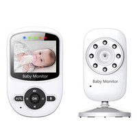 Wholesale Surveillance Intercom - Wireless Baby Monitor camera surveillance 2.4 inch LCD IR Night Vision Intercom Lullabies Temperature Monitor Alarm Digital Zoom Pan Tilt