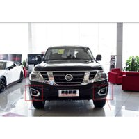 Left original fog lights - 2017 Nissan Armada Waterproof Projector LED Fog Light Fog light Decoration with Original size