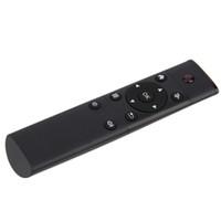 Wholesale Wireless Pc Tv Receiver - Black FM4 2.4G Mini Wireless Control Infrared Remote Control USB Wireless Receiver for Smart Android TV Box HTPC Mini PC Windows