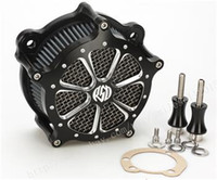 Wholesale road cleaning - Motorcycle accessories Air cleaner Intake Filter for Harley Dyna breakout Softail heritage tourin 1993-2015