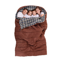 Wholesale Mummy S Bag - Wholesale- Naturehike 2-3 Person Sleeping Bag Outdoor Cotton Sleeping Bag Family Camping Sleeping Bag NH16S016-S
