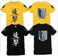 Wholesale Giant Advanced - Advancing Giants T-Shirt Eren Yeager Shirt Causal T-Shirts Anime & Manga Pretty Cool Novelty t-shirts best anime Cartoon shirt a