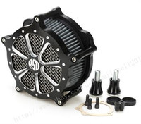 Wholesale Air Intake Accessories - Motorcycle accessories CNC Crafts Air Cleaner Filter Intake for Harley Sportster Iron 883 1200 48 04-15