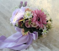 Wholesale Earthing Products - Wedding Decoration Supplies Hand Made High Imitation Korean Style Flower Bouquet Salable Product for Bride Wedding Flowers