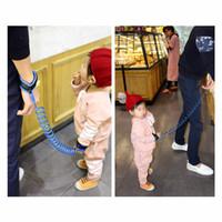 Wholesale Orange Nylon Rope - Baby Kids Anti Lost strap Child Leash Safety Wristband Safety leashes Anti-lost Wrist Link Band Traction Rope Baby Toddler Harness Leash Str