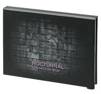 Wholesale Hot Water Boxes - 2017 New Arrival 12 colors eyeshadow palette Nocturnal Shadow Box Hot makeup palettes dhl free shipping