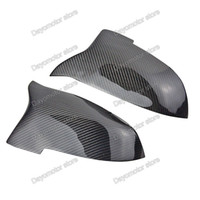 Wholesale carbon fiber wing - Carbon Fiber Rearview Wing Replacement Door Mirror Cover Trim For BMW 1 3 Series DT F30 F31 F34 F22 F23 F20 F21 F33