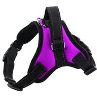 Wholesale Medium Duty - Soft Heavy Duty Purple Dog Lift Harness Padded Dog Safety Vest