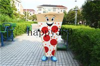 Wholesale Food Support - 2017 new mascot clothing pizza food mascot clothing direct support for private custom Halloween