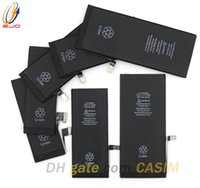 Wholesale battery for cellphones - Good Quality Battery For iphone 5 5c 5s 5se IPhone 6 6plus 6S 6Splus 7 7plus Li ion Batteries Cellphone Replacement Battery Mix