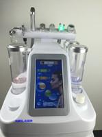nueva cáscara de microdermabrasión. al por mayor-2019 Nuevo 6in1 Hydro Dermabrasion Máquina Facial Agua oxígeno jet Peeling Diamond Microdermabrasion Máquina Cuidado Facial Rejuvenecimiento de la Piel