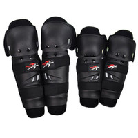 Wholesale Motocross Safety Gear - 4 Pieces  Set Hot Sale Safety Outdoor Motorcycle Protective Kneepad Motocross Protector Racing Knee Pads Elbow Gear Adjustable EVA Cushion