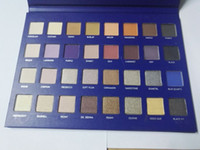 Wholesale lorac pro 32 palette online - New Lorac Mega Pro Blue Palette Eyeshadow Colors Palette Shimmer Matte Brands Eye Shadow Palette Makeup