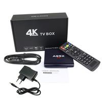 ingrosso quad core migliori smart box tv-S905W Android 7.1 TV Box A95X R1 Corte quad-core Amlogic A7 1G 8G 4K * 2K 2.4G WiFi HDMI Altre app Smart OTT Media Player Miglior regalo