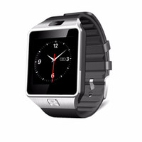 Wholesale Gps Kid Tracker Wristwatch - 2016 New Smart Watch dz09 With Camera Bluetooth WristWatch SIM Card Smartwatch For Ios Android Phones Support Multi languages