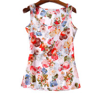 Wholesale ladies plus size clothing cheap for sale - Summer Women T shirts Styles Flower Print Ladies Blusa Feminina Top Tee T Shirt Plus Size Cheap Clothes China Female Tops