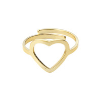 Wholesale Free Midi - Wholesale 10Pcs lot Free Shipping 2017 Time-limited Adjustable Midi Rings Stainless Steel Jewelry Gold Filled Romantic Heart Couple Rings