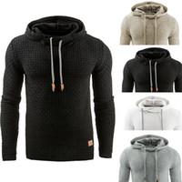 Wholesale Rabbit Men Coat - 2017 NEW Fashion Men's Hoodie Solid Sweatshirts Rabbit Hair Collar plus size Men's Jacket men's Coats men outwear black S-XXXXL