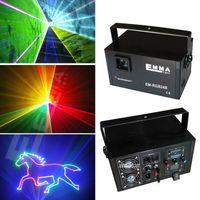 Wholesale Stage Show Equipment - Mutil-color ILDA+SD+2D+3D 1500mW RGB laser show system dj equipment laser light stage light holiday laser light laser