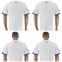 Wholesale Blank Cotton Football Jerseys - Montreal Impact Soccer Jersey 10 PIATTI 6 Camara 7 Oduro 8 Bernier 11 Duka Blank Customize Any Football Shirt Kit Uniform