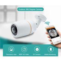 Wholesale cctv camera outdoor waterproof wifi for sale - Group buy Outdoor Degree Camera VR Panoramic HD P Wireless Wifi IP Cam Fisheye mm Wi Fi Cameras Surveillance CCTV Cam