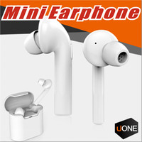 Wholesale Earbud Cases - Air7E TWS Bluetooth Earbud Mini Dual In-Ear Wireless Earphone V4.2 with Mic and Charging Case for iPhone Samsung IOS Android Smart Phones