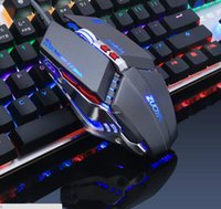 ZUOYA 3200 DPI Silence Click USB Wired Gaming Mouse Gamer 6 Pulsanti Opitical Ergonomia Computer Mouse per PC Laptop Mac gioco LOL Dota