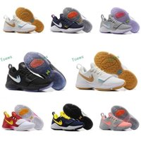 spring fishing hooks - 2017 New Men Paul George PG Dream Off Hook Zoom Low Basketball Shoes Adult I Glacier Grey Ivory Ferocity Sports Basket Ball Sneakers