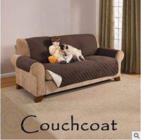 Wholesale Protector Furniture - Breif Breathable Couch Coat Reversible Furniture Couch Protector Coat Sofa Cushion Couch Towel Couchcoat LJJC5365 16pcs