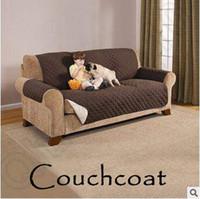 Wholesale Wholesale Furniture Couches - Breif Breathable Couch Coat Reversible Furniture Couch Protector Coat Sofa Cushion Couch Towel Couchcoat LJJC5365 16pcs