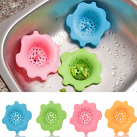 Wholesale Silicone Kitchen Sink Strainer Filter PC Round Kitchen Sink Drain Cover Stopper