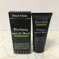 Wholesale Black Heads Removal - Cheap Facial Mask SHILLS Purifying Peel Off Black Mask Blackhead Remover Deep Cleansing Cleaner Pore Acne Treatment Black Heads Removal 50ml