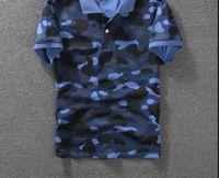 Wholesale Camouflage Tops Women - Mens women Sportwear Tshirts Jogger Tracksuit camouflage cotton Crewneck Bird OVO Drake Black Hip Hop stusay Tee tops Polos A P Ehead print