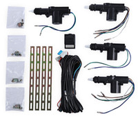 Wholesale Motor Actuator - TLT - 4S - 111 - WT 12V Four Actuator Motor Vehicle Door Central Lock Keyless Entry Locking Car Safety Tool Kit